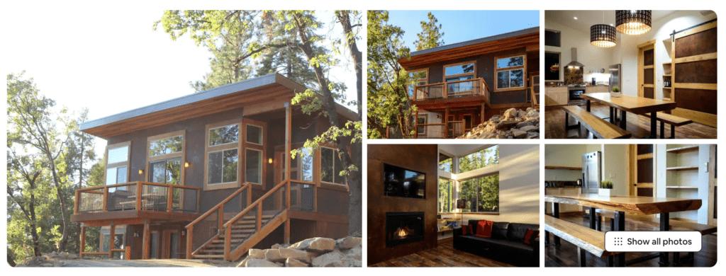 cabin rental in yosemite national park